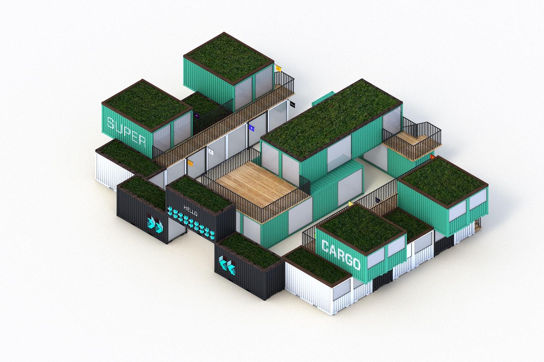 Espace de travail SuperCargo XL