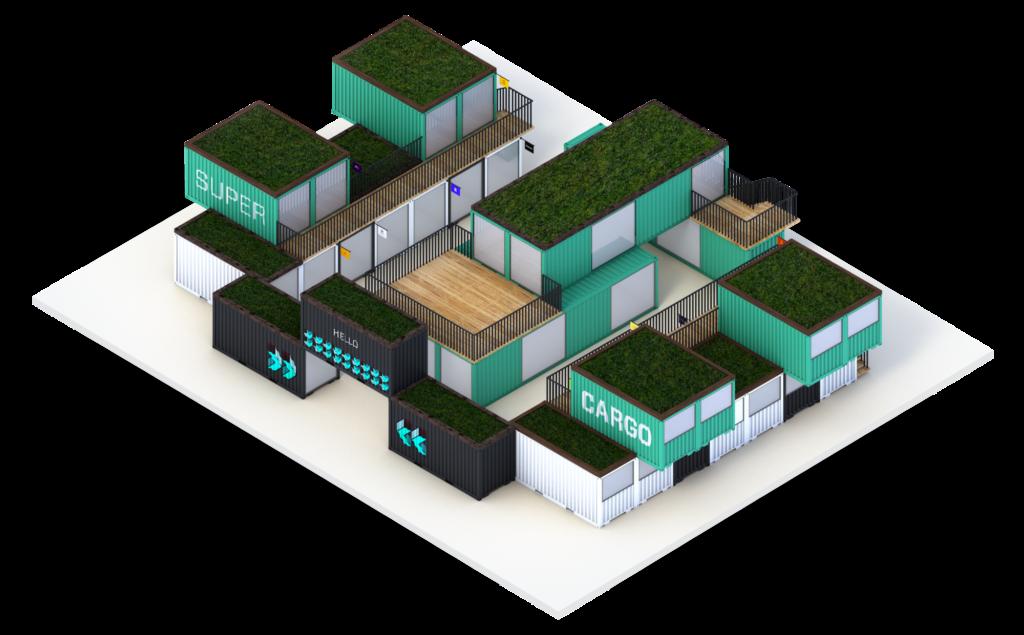 Espace de travail SuperCargo XL - Iso