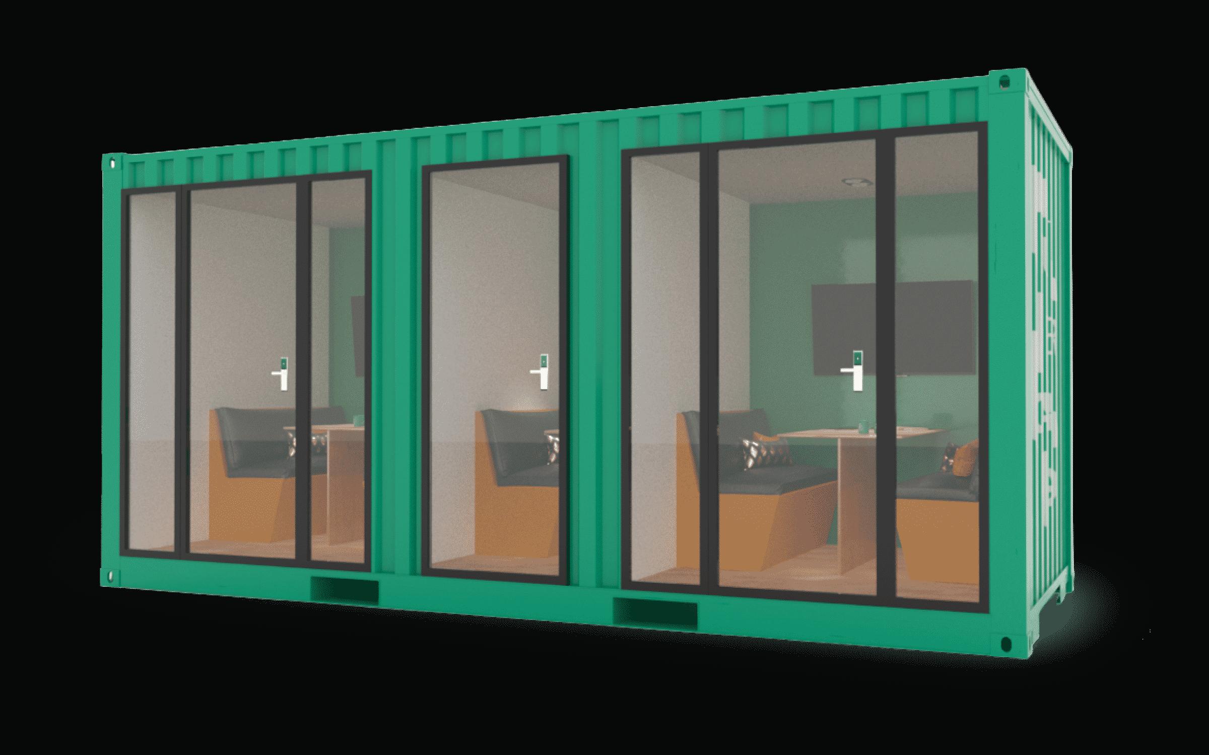 SuperCargo - Tiny vue extérieure