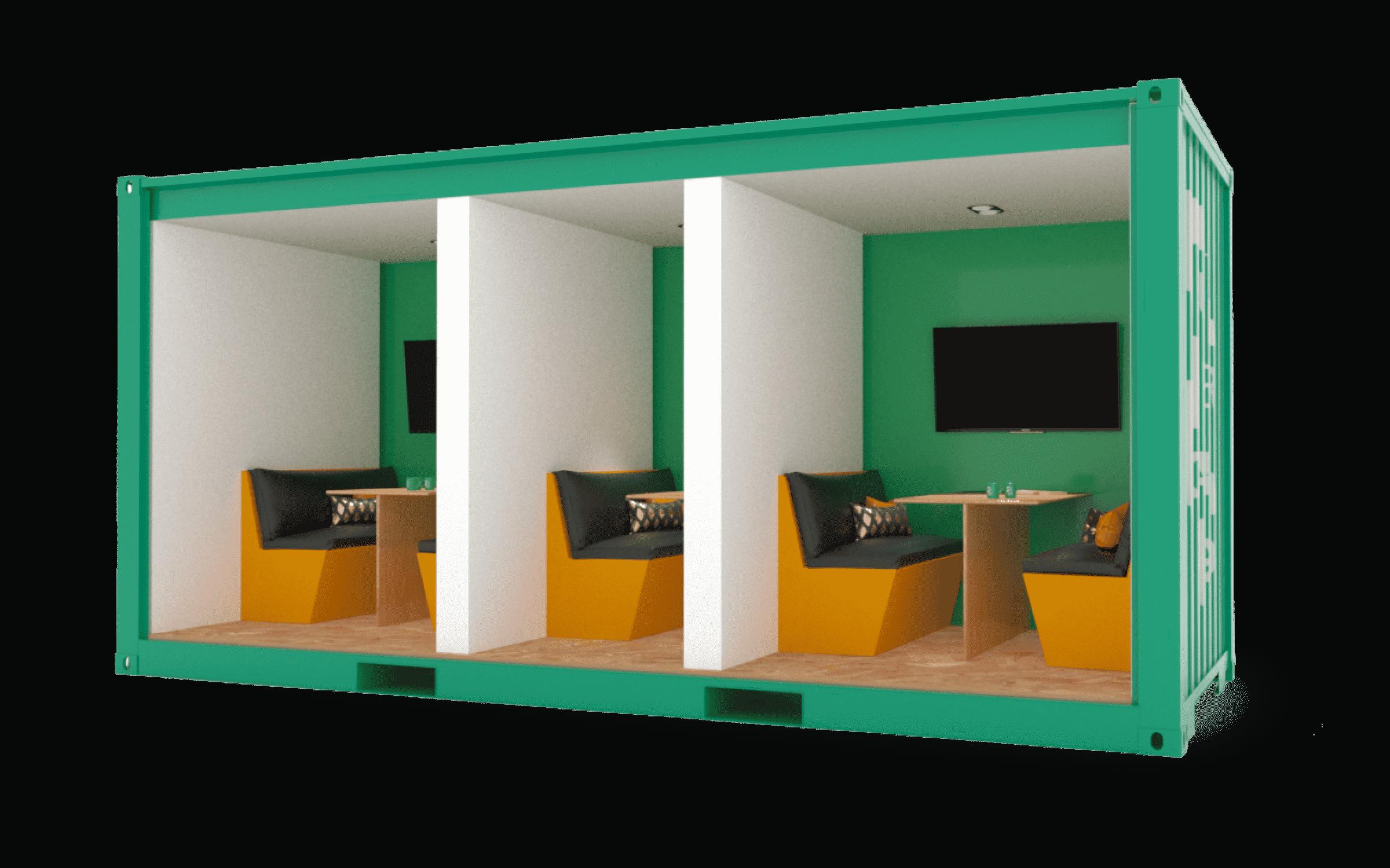 SuperCargo - Tiny - Vue intérieure